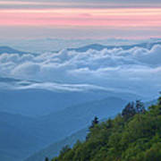 Dawn Great Smoky Mountains Poster