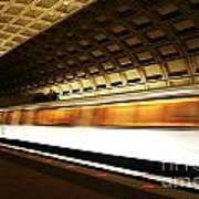 Dc Metro Poster by Heather Applegate