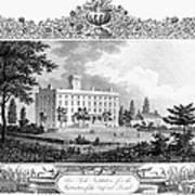Deaf And Dumb Asylum, 1835 Poster
