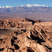 Death Valley - San Pedro De Atacama - Chile Poster