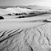 Death Valley Dunes 11 Poster by Bob Christopher