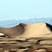 Death Valley Dunes Poster