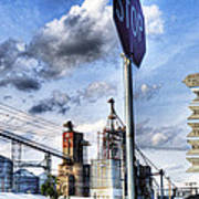 Decatur Alabama Industrial District Poster