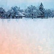 December Snow Poster