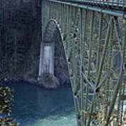 Deception Pass Bridge South Span Poster