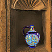 Decorative Carafe In An Alcove Poster