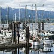 Deep Bay Harbor Poster by Artist and Photographer Laura Wrede