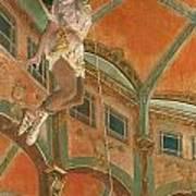 Degas: Miss La La Poster
