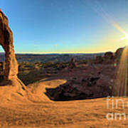 Delicate Arch Bowl Poster