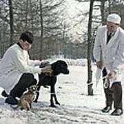 Demikhov's Laboratory Dogs, 1967 Poster