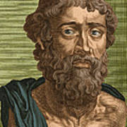 Demosthenes, Ancient Greek Orator Poster by Photo Researchers