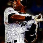 Derek Jeter New York Yankee Poster