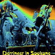 Derringer In Spokane Poster