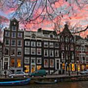Desafinado-prinsengracht. Amsterdam Poster