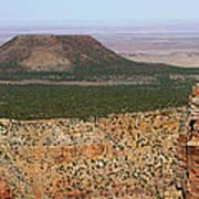 Desert Watch Tower View Poster