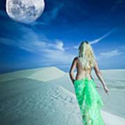 Desert Woman Poster