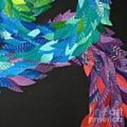 Detail - Kukulkan Poster by Mitza Hurst