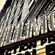 Detroit Fillmore Theatre Poster