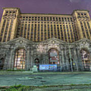 Detroit's Michigan Central Station - Michigan Central Depot Poster