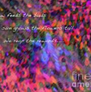 Dew Haiku Poster
