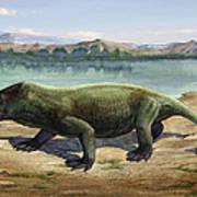 Dicynodon Trautscholdi, A Prehistoric Poster