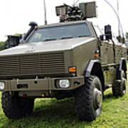 Dingo II Vehicle Of The Belgian Army Poster