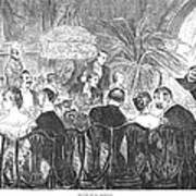 Dinner Party, 1885 Poster