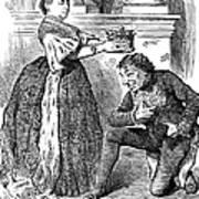Disraeli Cartoon, 1876 Poster