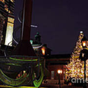 Distillery District Holiday Night Poster