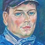 Dmitry Polyakov Poster by Leonid Petrushin