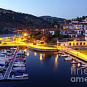 Dock In Douro River Poster