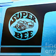 Dodge Charge Super Bee Logo  Poster