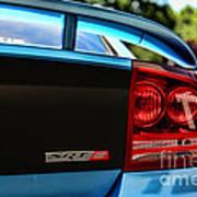 Dodge Charger Srt8 Rear Poster