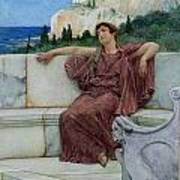 Dolce Far Niente Poster by Sir Lawrence Alma-Tadema