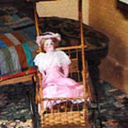 Doll In Carriage Poster