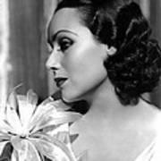Dolores Del Rio, Portrait Ca. 1934 Poster