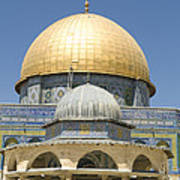 Dome Of The Rock Was Erected Poster