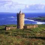 Doonagore Castle, Co Clare, Ireland Poster