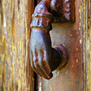 Door Knocker Poster