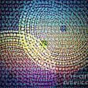 Dots Circles Poster