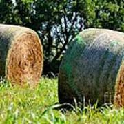 Double Hay Rolls Poster
