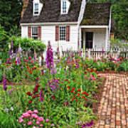 Down A Garden Path Poster