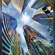 Downtown Sunstream Poster