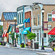 Downtown Waterville Poster