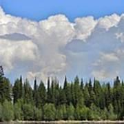 Dramatic Sky Marshall Lake Poster