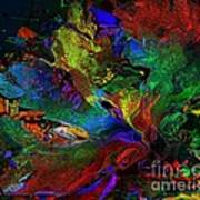 Dreamscape Abstract Number Five Poster by Doris Wood