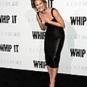 Drew Barrymore Wearing A Lwren Scott Poster by Everett