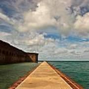 Dry Tortugas Sea Wall Poster by Patrick  Flynn