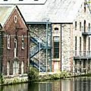 Dublin. Old Harbour Poster