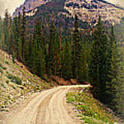 Dubois Mountain Road Poster